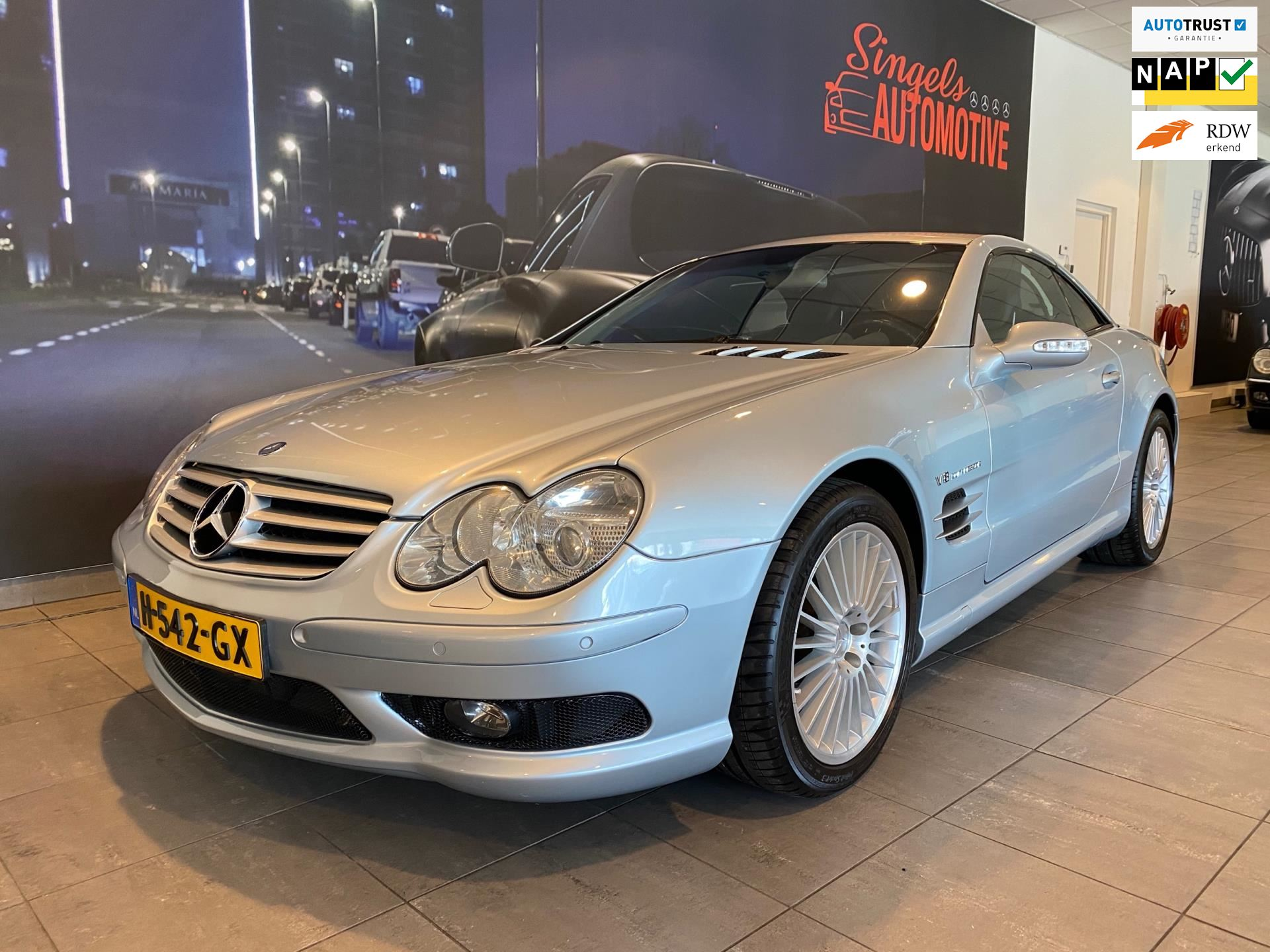Mercedes-Benz SL-klasse occasion - SINGELS AUTOMOTIVE