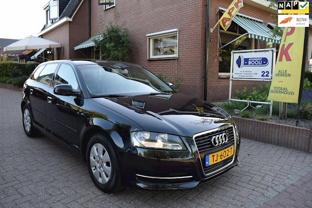 Audi A3 Sportback 1.6 TDI Attraction Advance 102 gram LEER/PDC/TELEFOON/CRUISE/PDC/NETTE STAAT!