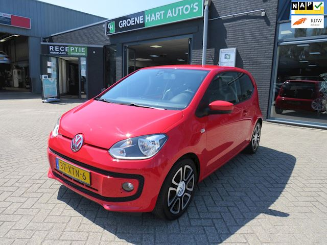 Volkswagen Up! 1.0 high up! BlueMotion /CRUISECONTROL/AIRCO/NAP!!