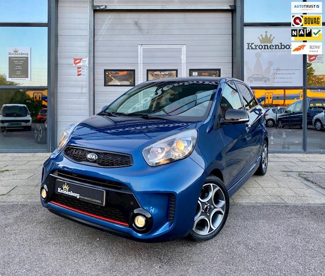 Kia Picanto 1.2 CVVT SportsLine Black on Chrome Limited Edition, ClimaC, Dealeronderhouden, Trekhaak