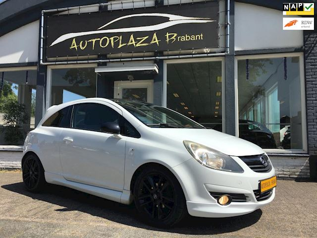 Opel Corsa 1.2-16V LIMITED-OPC /LEER/ AIRCO/ AUX/ 17 INCH LM VELGEN/ NIEUWE APK