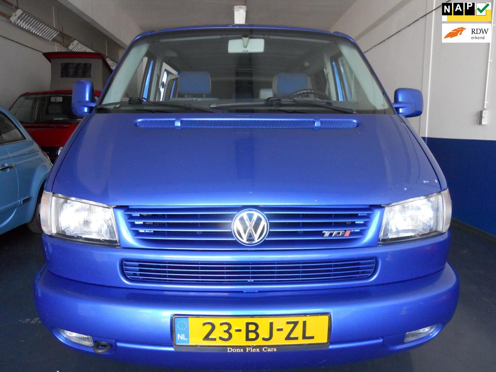 Volkswagen MULTIVAN 2.5TDI 150pk evt 7 pers BusCamper Inruil Mogelijk Boekjes /NAP Aanwezig occasion - B.Z. Auto's