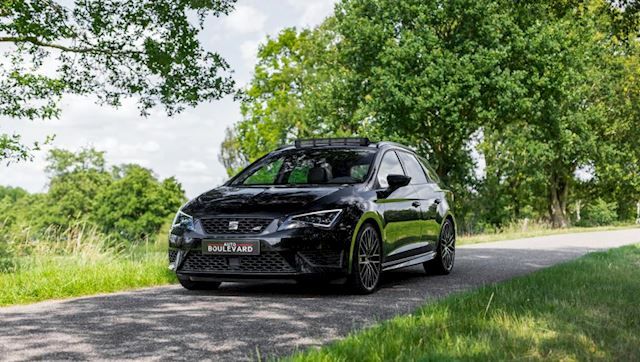 Seat Leon ST 2.0 TSI Cupra 290 Connect Full option!! Automaat, Navi, Stoelverwarming, Panorammadak