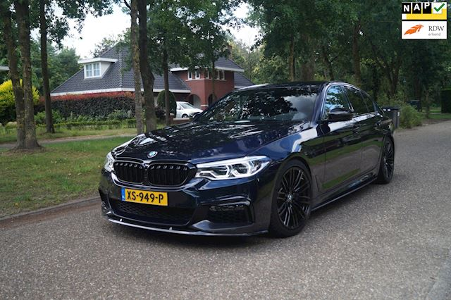 BMW 5-serie 540i High Executive M-Sport/Performance Sport-Uitlaat 29Dkm
