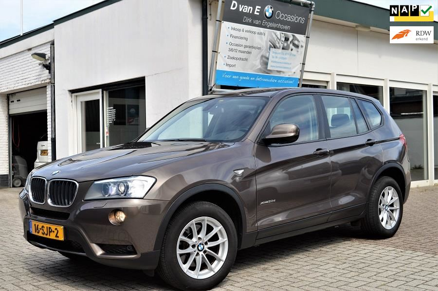 BMW X3 occasion - D van E Occasions