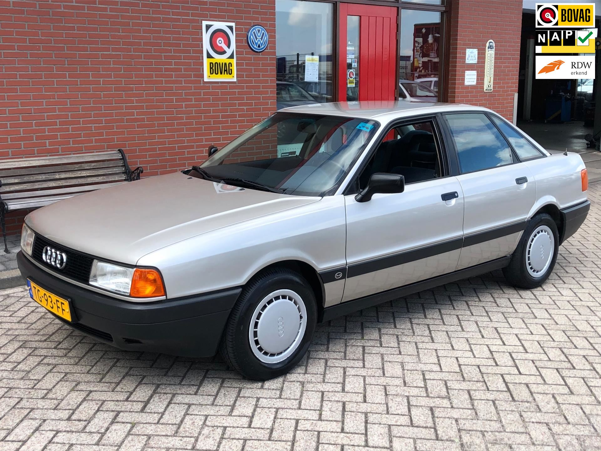 Audi 80 occasion - Wester Wognum B.V.