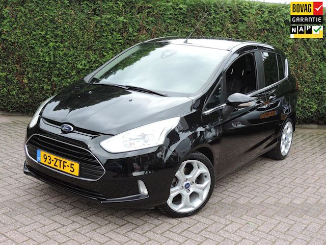Ford B-Max 1.0 EcoBoost Titanium | Trekhaak | Leer | Stoelverw. | 17'' | Cruise contr | PDC | Climate Contr