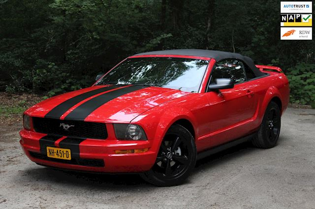Ford USA Mustang 4.0 V6 Cabrio Automaat Youngtimer!