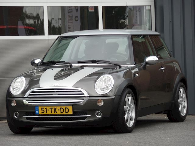 Mini Mini 1.6 Cooper Park Lane Leder Climatecontrol Cruisecontrol Radio/cd