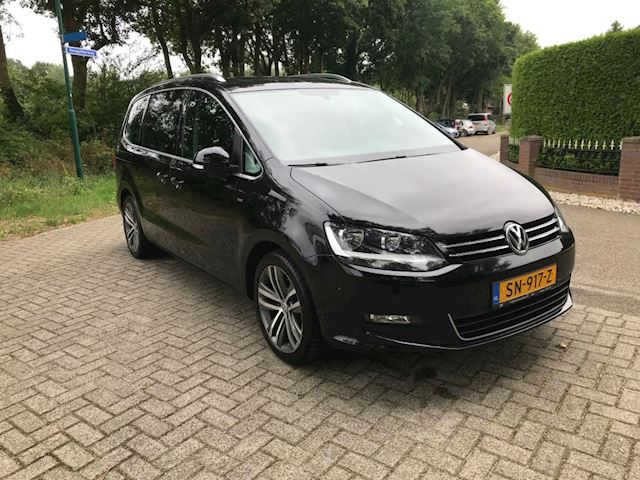 Volkswagen Sharan 2.0 TDI DSG autom. 177PK Highline 7persoons. CUP EDITION