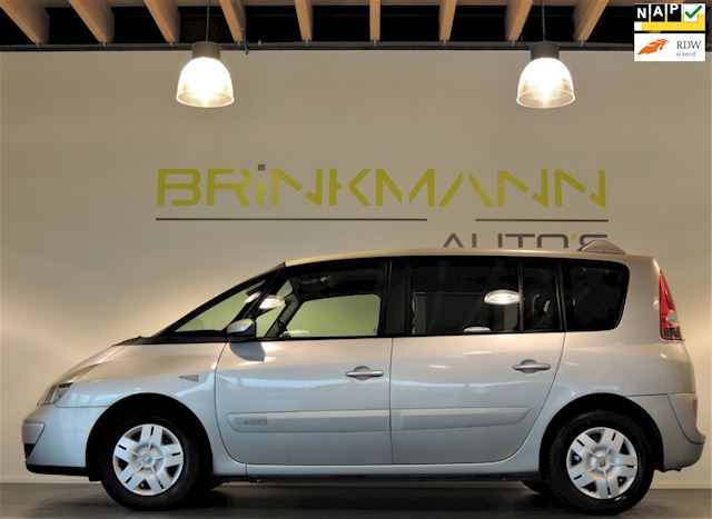 Renault Espace 2.0 T. - 6 Pers. - Airco - Tr.haak.