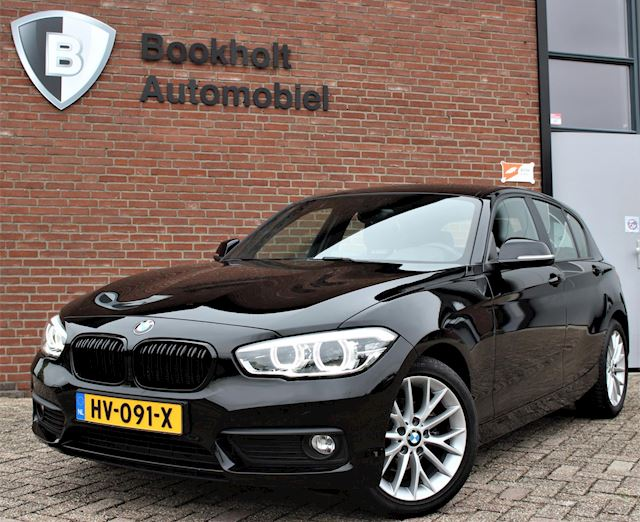 BMW 1-serie 118i, LED, M-stuur, Sportstoelen, Automaat, EDE Corp. Lease Essential 2016