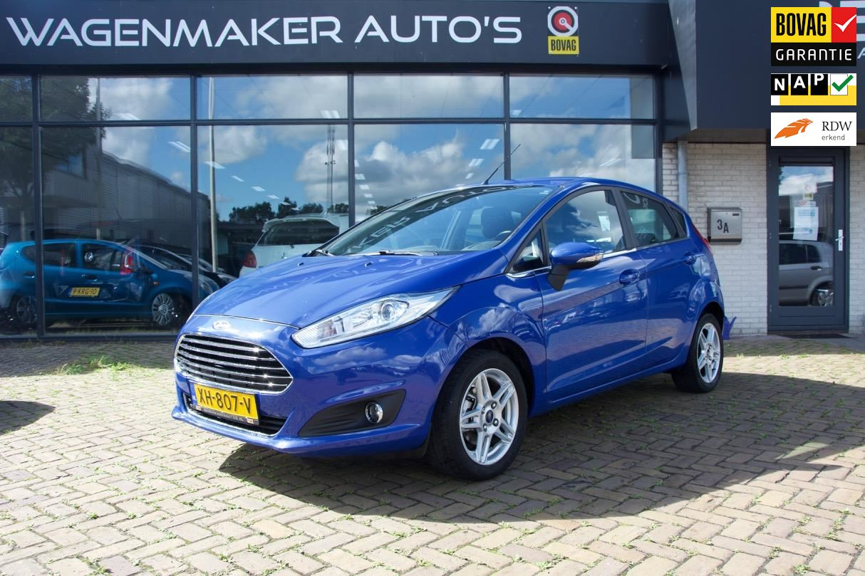 Ford Fiesta occasion - Wagenmaker Auto's