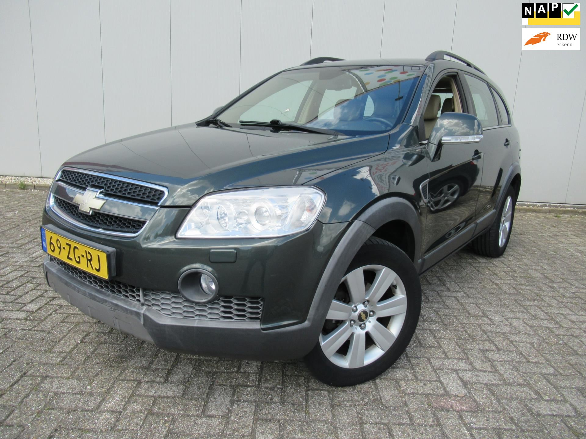 Chevrolet Captiva occasion - FR Cars