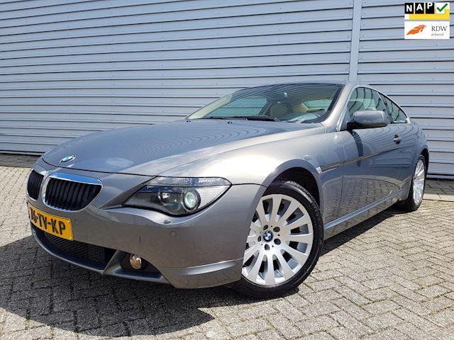 BMW 6-serie 630i High Exec. Clima/Leder/NAVI/ Uniek!