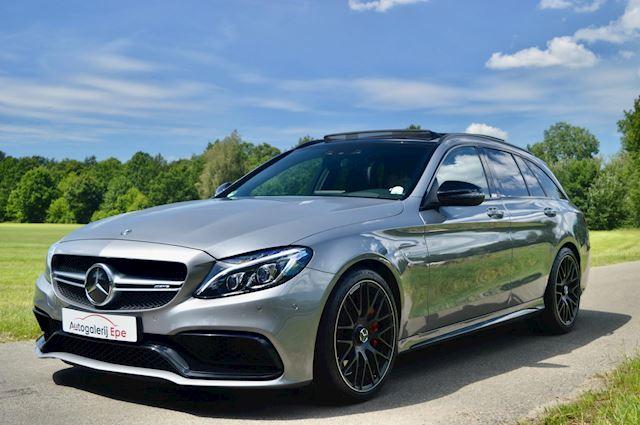 Mercedes-Benz C-klasse Estate 63 AMG S 510 PK Pano C63S C63 Drivers Package Dealer onderhouden Incl. BTW