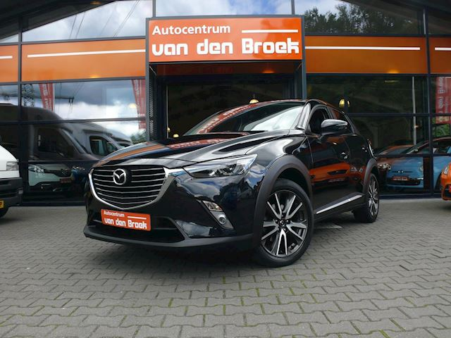 Mazda CX-3 2.0 SkyActiv-G 150 GT-M 4WD Navi Xenon Leder Head-Up Display Camera Climate Cruise Ctr Stoelverw Pdc