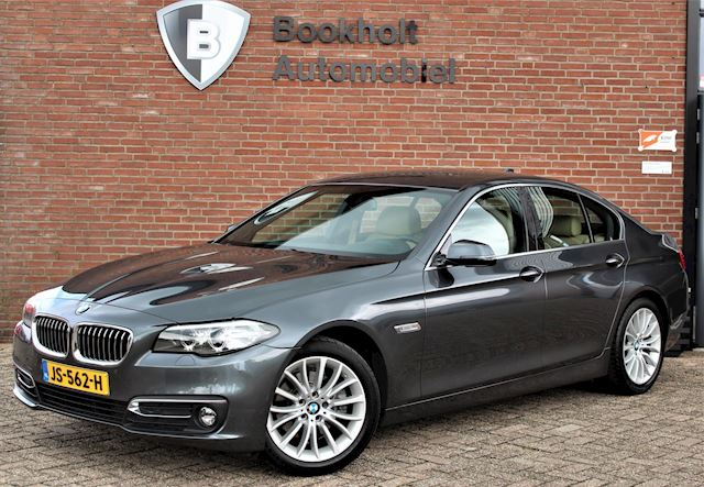 BMW 5-serie 520i Luxury Edition, Comfort-stoelen + memory, Top-staat