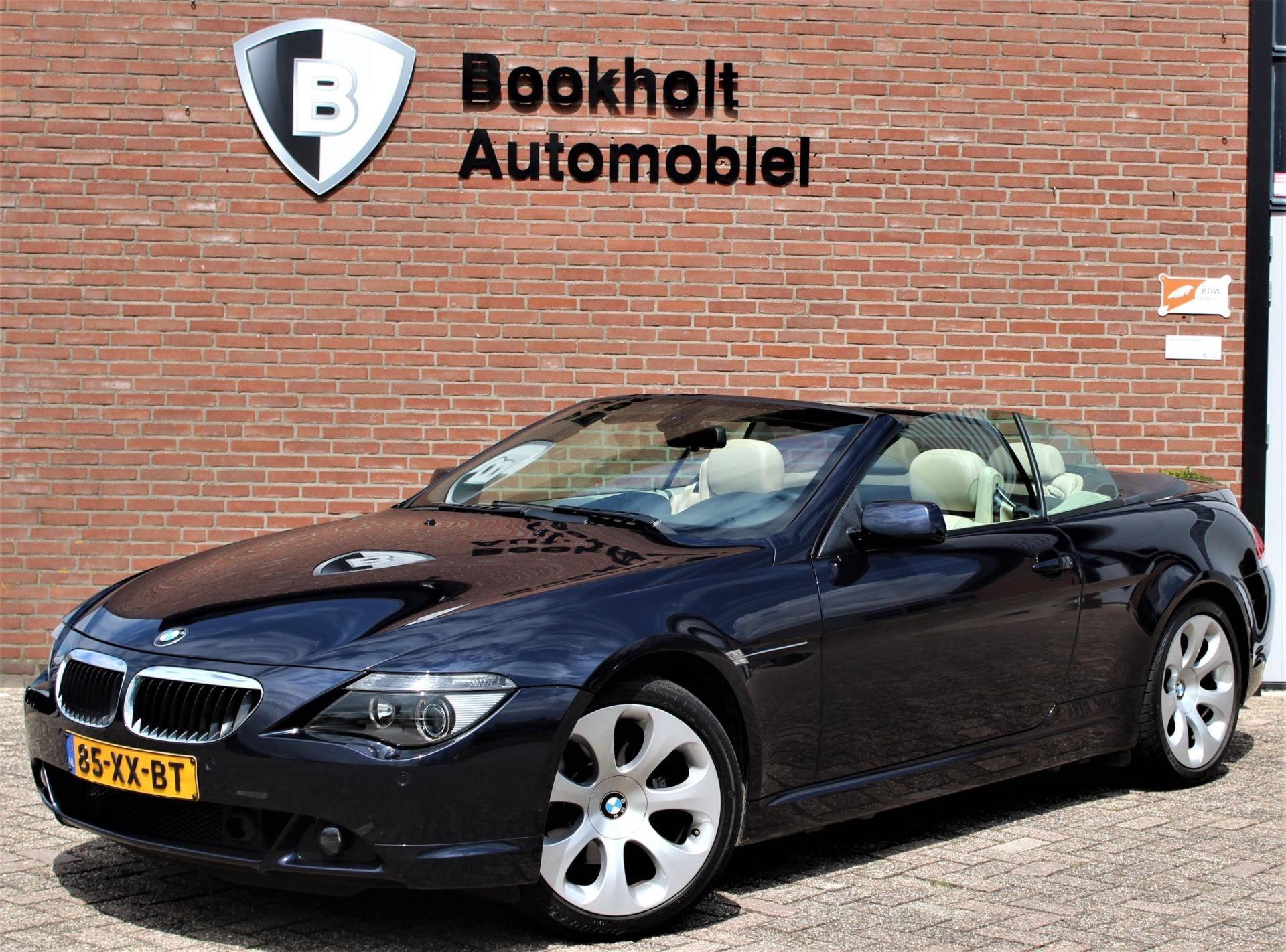 BMW 6-serie Cabrio occasion - Bookholt Automobiel