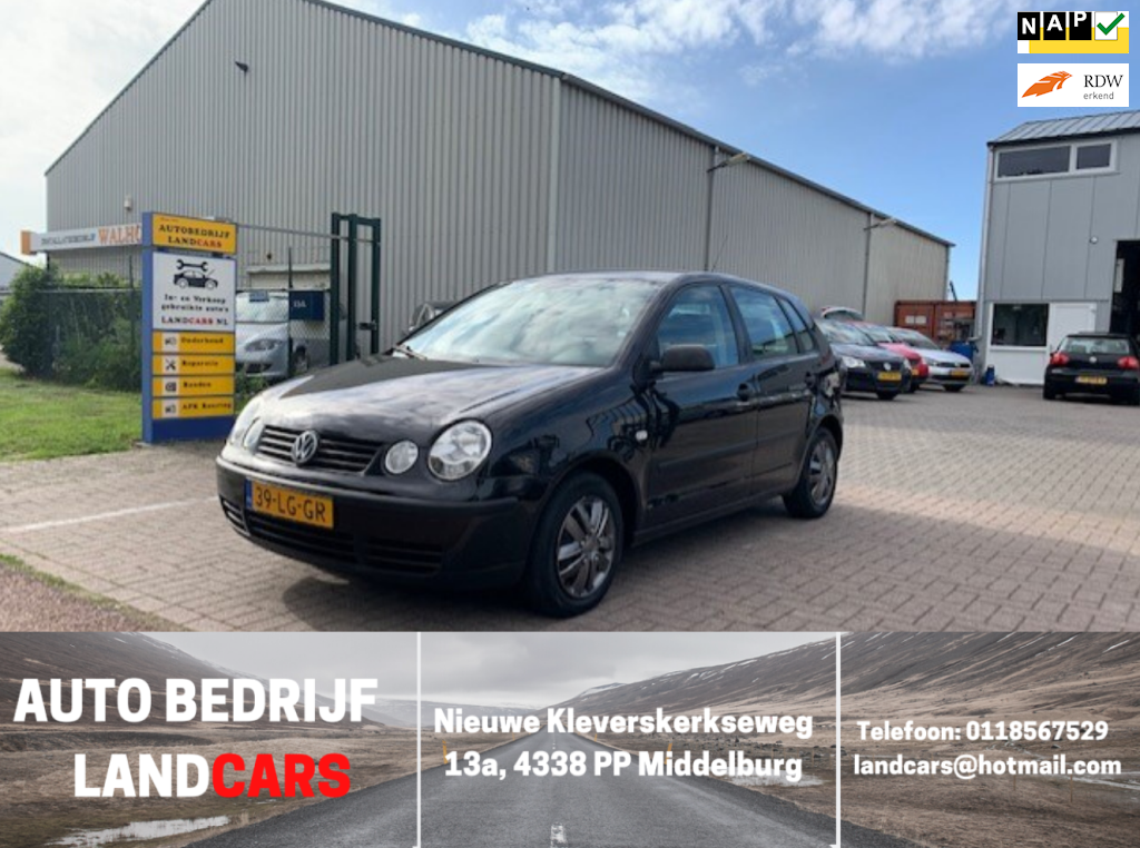 Volkswagen Polo occasion - Land Cars Middelburg
