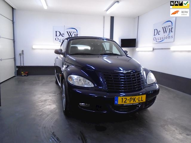 Chrysler PT Cruiser Cabrio 2.4 Turbo Limited EDITION in ZEER NETTE STAAT !! incl. NAVI./NWE APK/GARANTIE !!