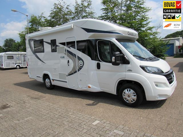 Chausson Flash 628 Queensbed + Hefbed 19600km bj 2016
