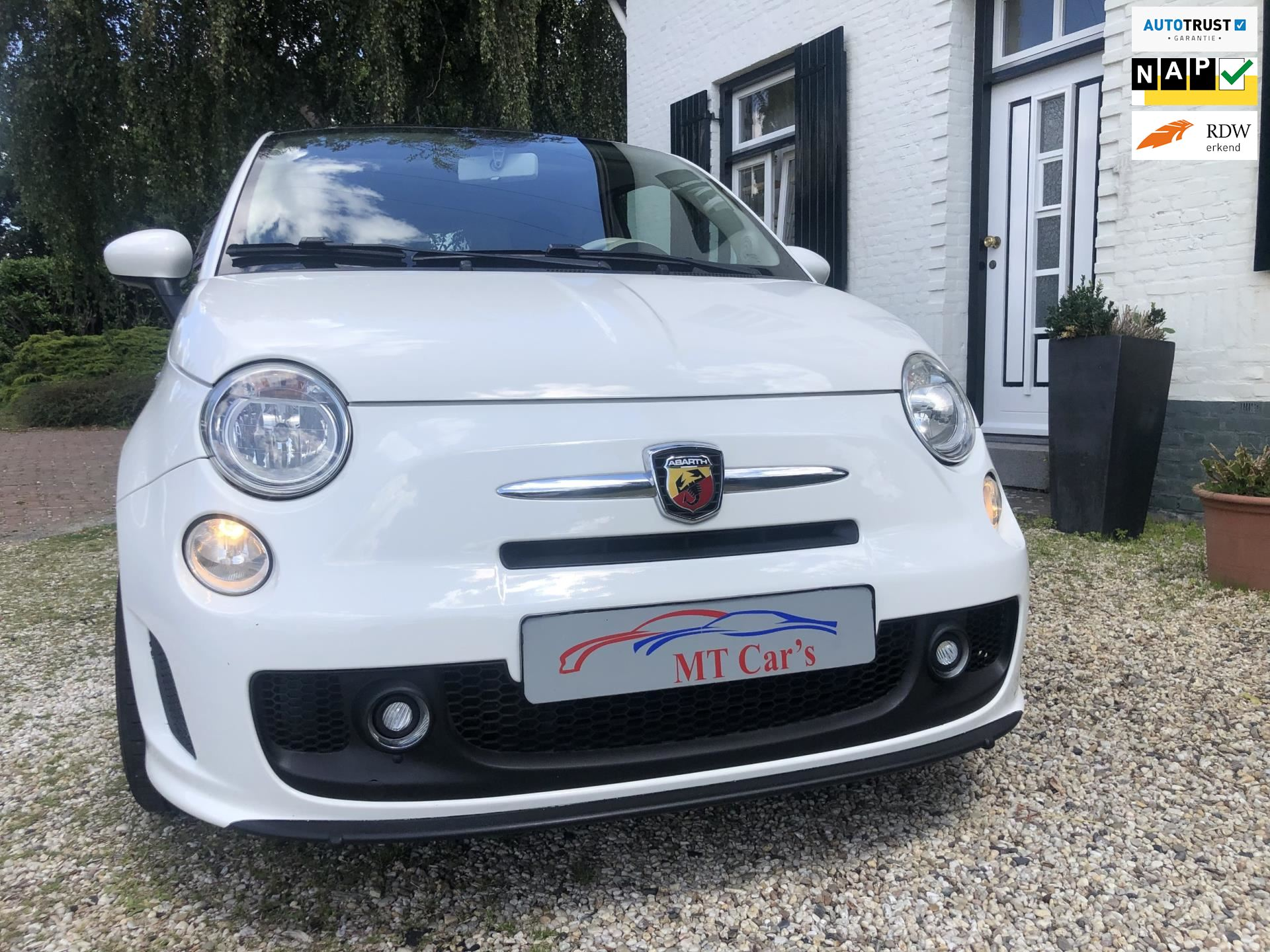 Fiat 500 occasion - M.T.  Car's & Carcleaningcenter