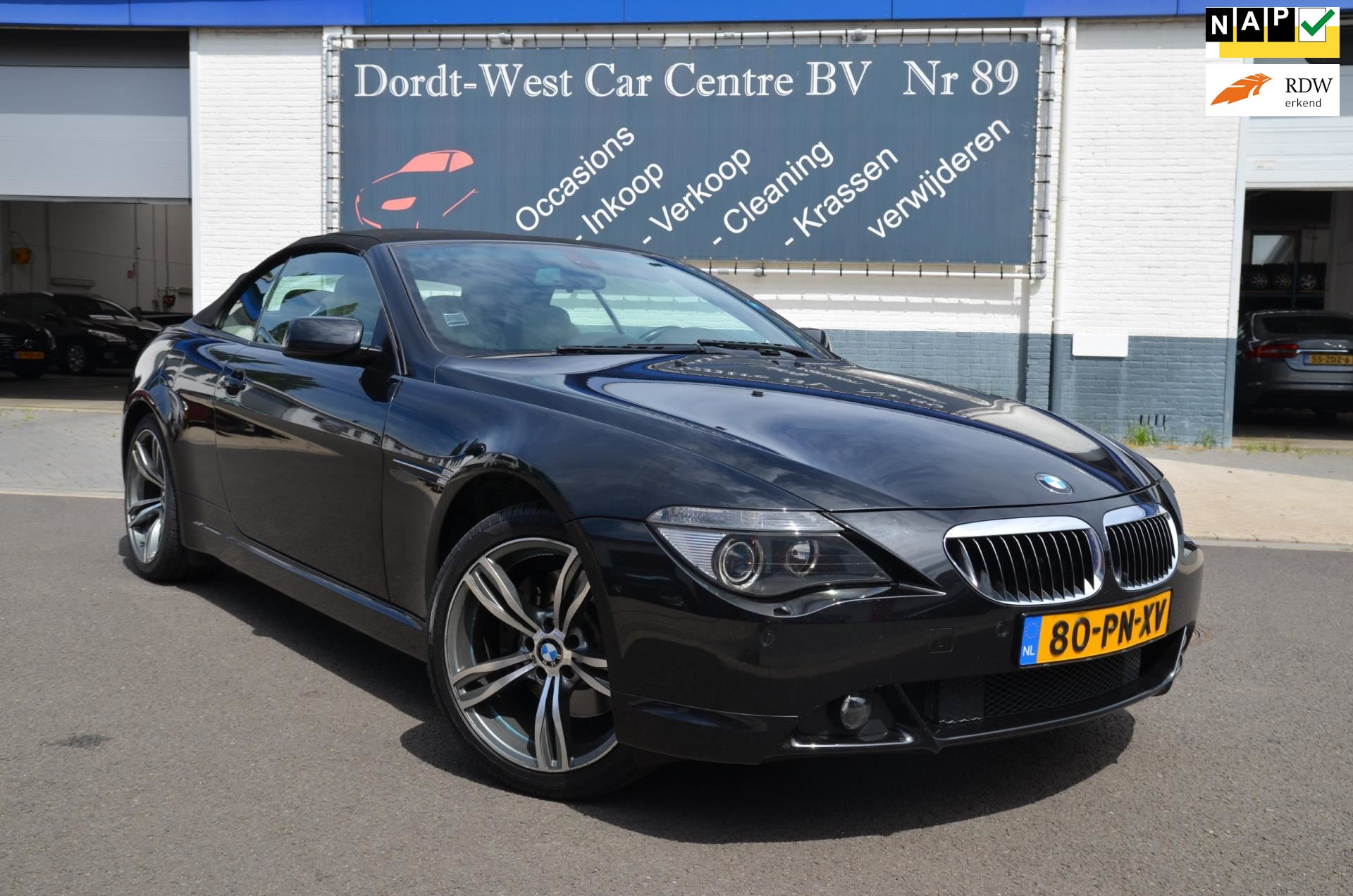 BMW 6-serie Cabrio occasion - Dordt-West Car Centre BV