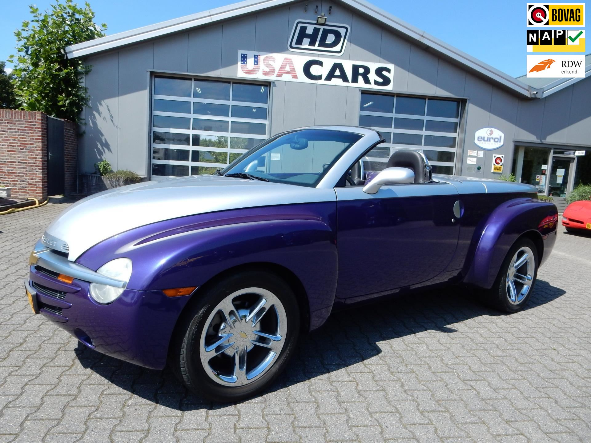 Chevrolet SSR Super Sport Roadster V8 Aut. grijs kent. occasion - HD USA CARS