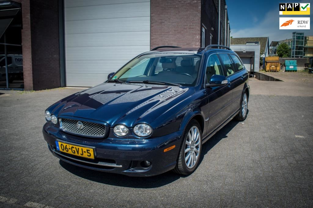Jaguar X-type Estate occasion - Autobedrijf Helderman