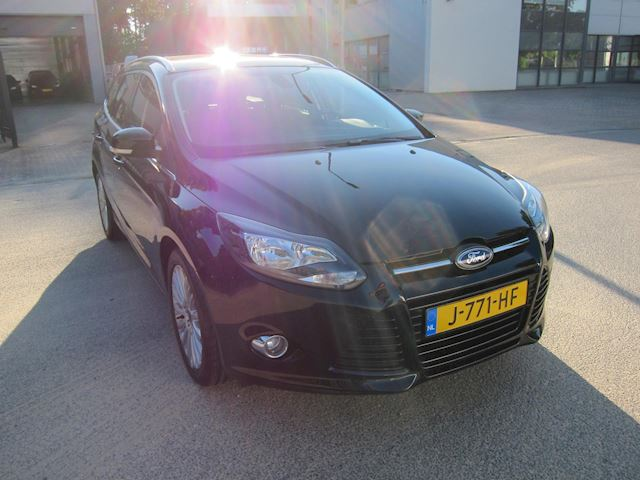 Ford Focus Wagon 1.6 EcoBoost Titanium TREKHAAK SONY PDC CRUISE!!
