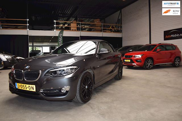 BMW 2-serie Cabrio 220i Executive Luxury leder automaat