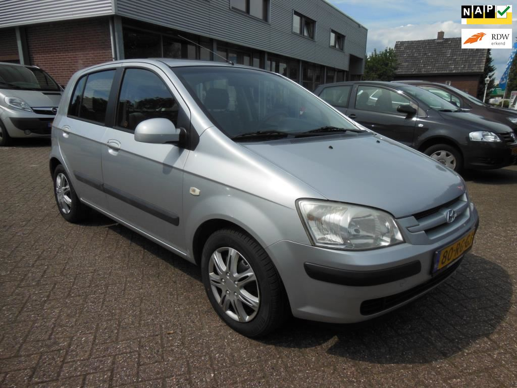 Hyundai Getz occasion - Autobedrijf Grashoek