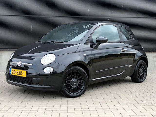 Fiat 500 0.9 TwinAir Black Optic Airco NL-auto