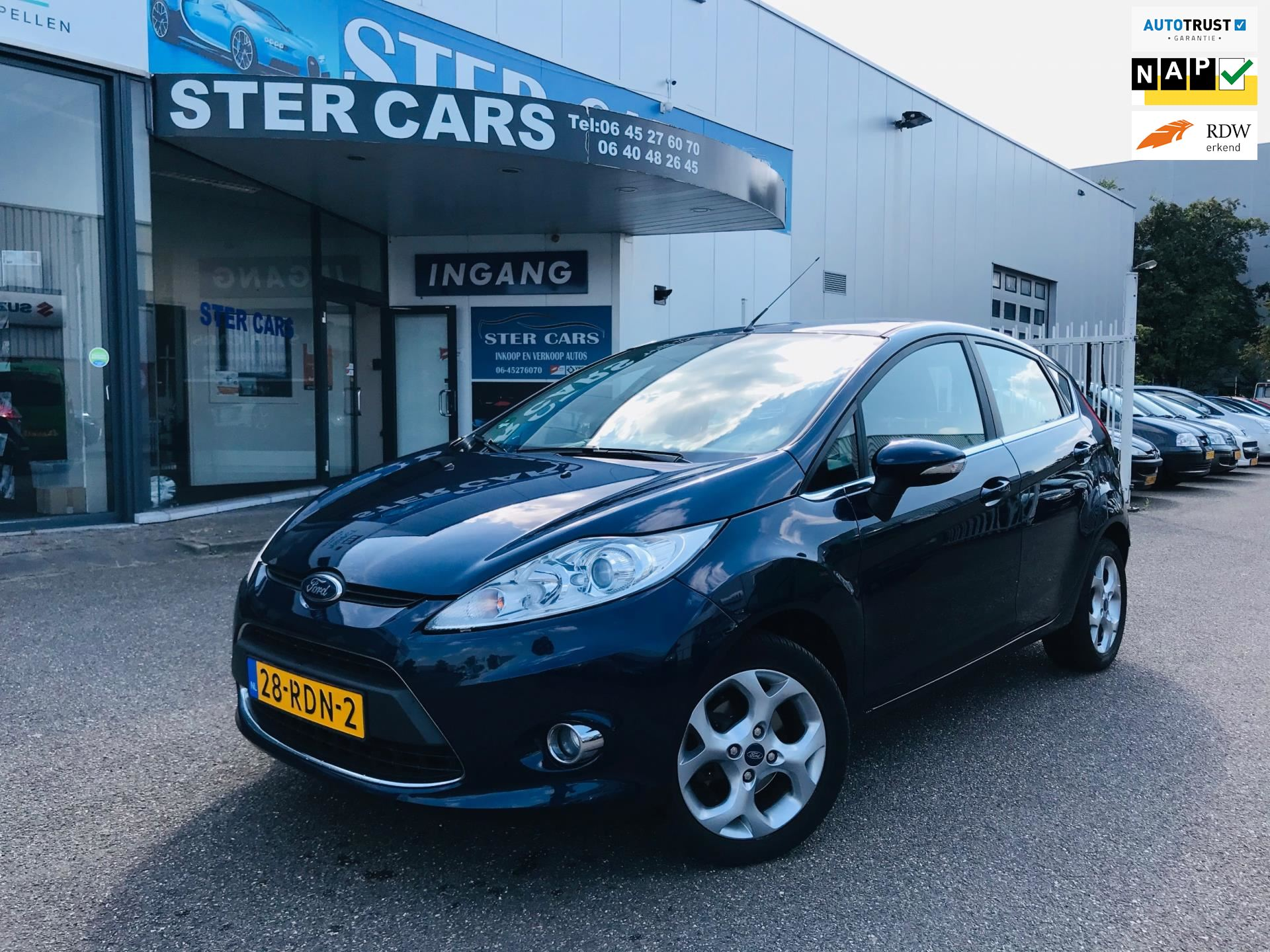 Ford Fiesta occasion - Ster Cars