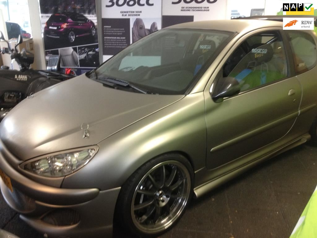 Peugeot 206 occasion - Theo Coppens Auto's