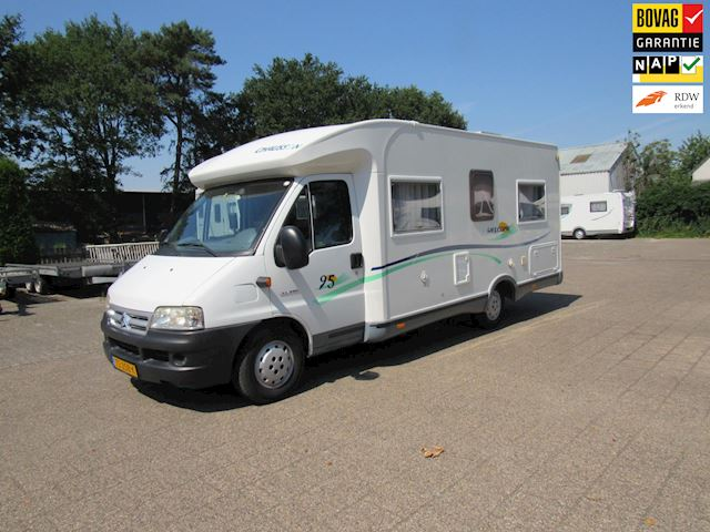 Chausson Welcome 2.8JTD Enkele bedden Semi integraal bj2003