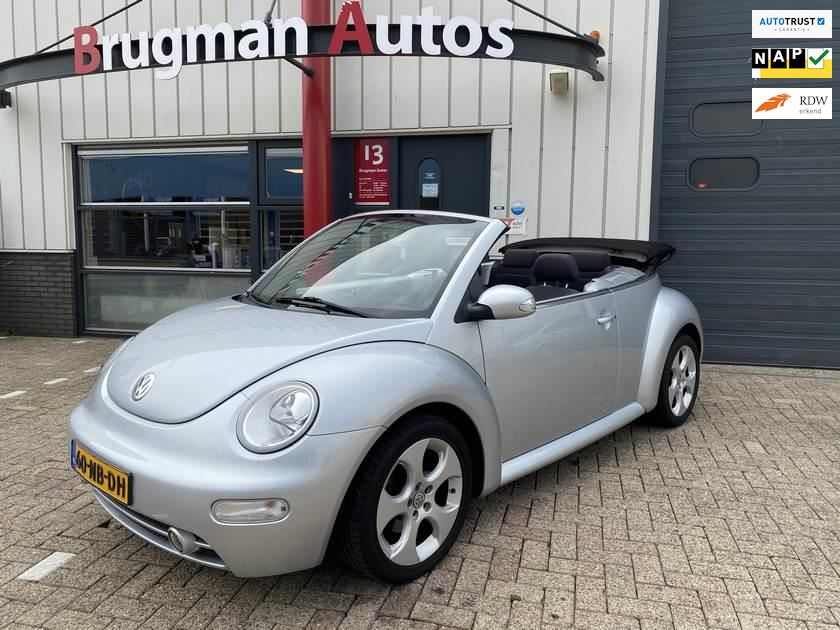Volkswagen New Beetle Cabriolet occasion - Brugman Auto's