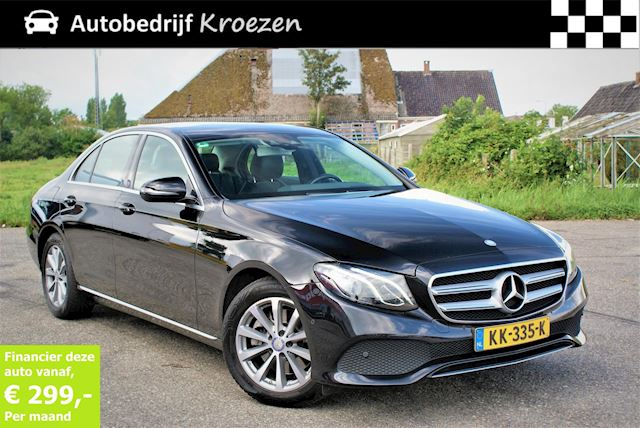Mercedes-Benz E-klasse 220 d Lease Edition * Head-UP * Wide Screen *Camera *