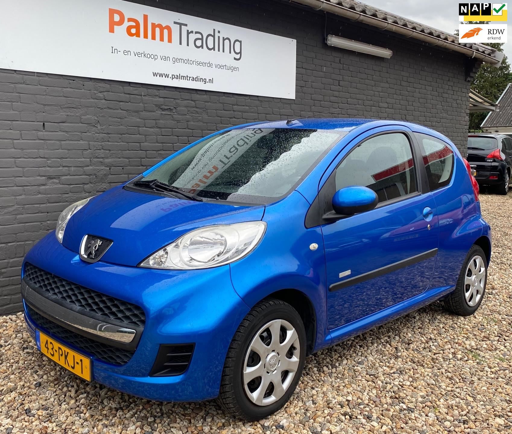Peugeot 107 occasion - Palm Trading
