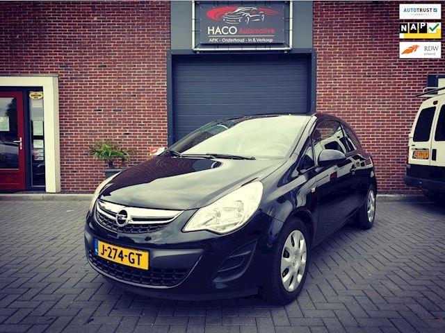 Opel Corsa 1.2 Edition EcoFlex / AIRCO / ZWART / NIEUWE APK