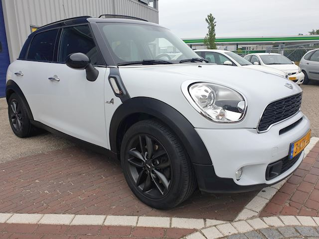 Mini Mini Countryman 2.0 Cooper SD ALL4 Chili Panodak Leder 1e Eigenaar