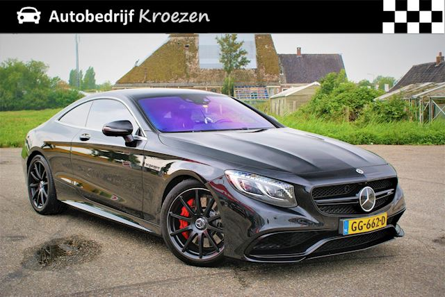 Mercedes-Benz S-klasse Coupé 63 AMG 4Matic * Night Vison * 360 Camera * Volledig Onderhouden *