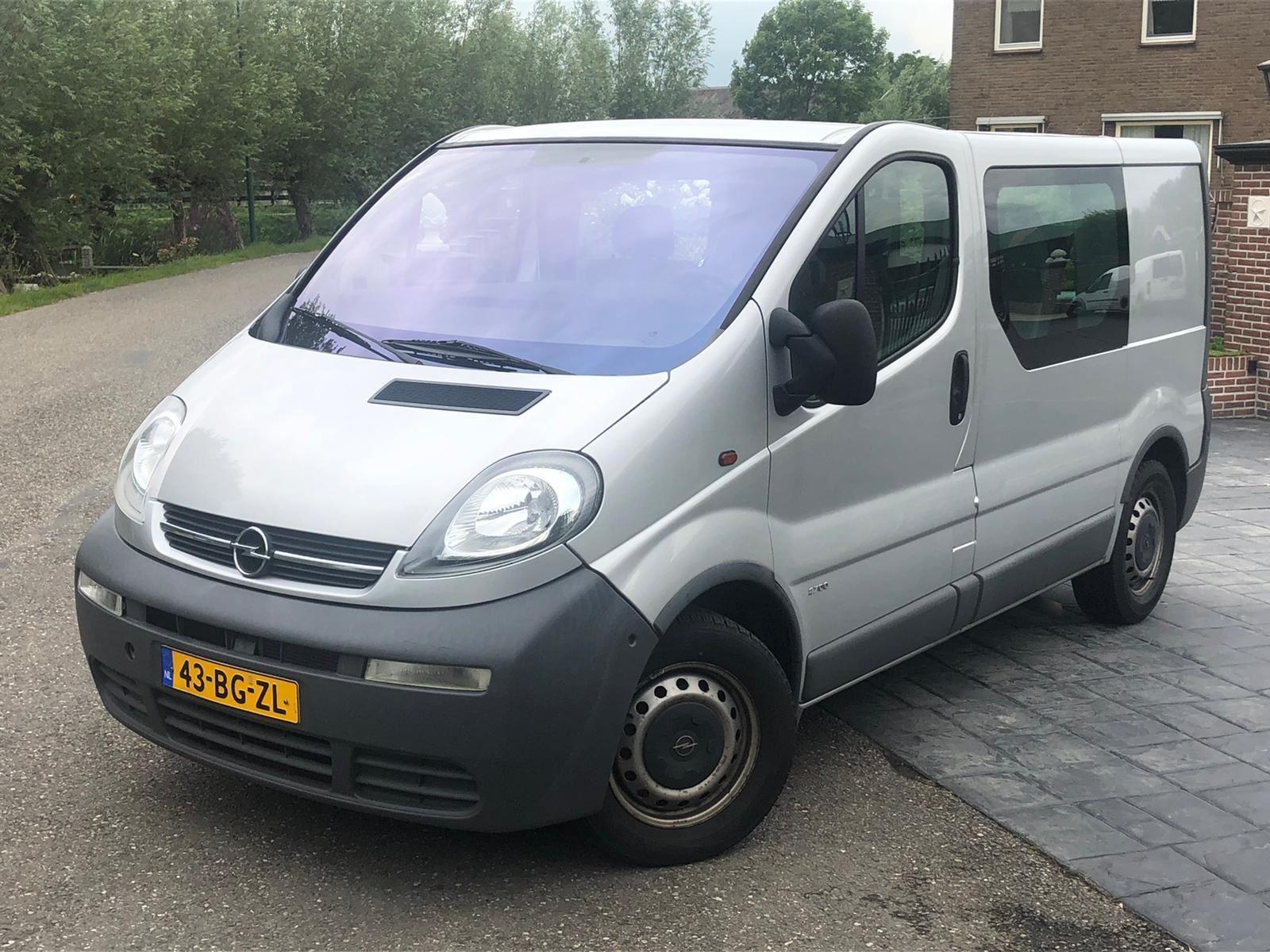 Opel VIVARO 1.9DTI 2.7T L1H1 occasion - Autobedrijf Oudewater