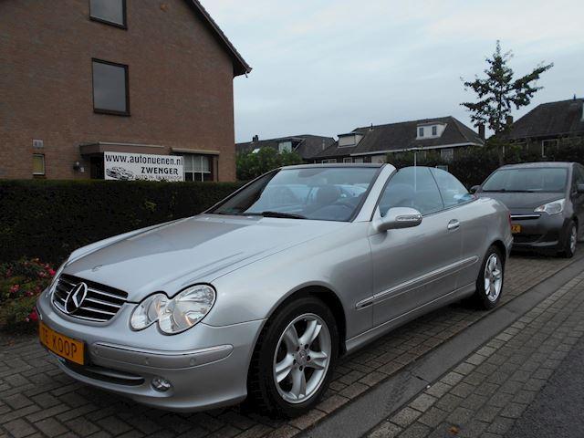 Mercedes-Benz CLK-klasse Cabrio 200 K. Avantgarde 1E-EIGENAAR|YOUNGTIMER|AIRCO|LEER|STOELVERWARMING|PARKEERSENSOREN|NIEUWSTAAT