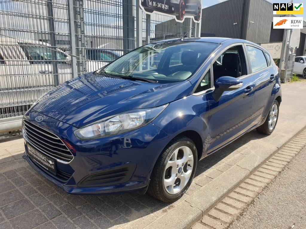 Ford Fiesta occasion - Van Wanrooy Auto's