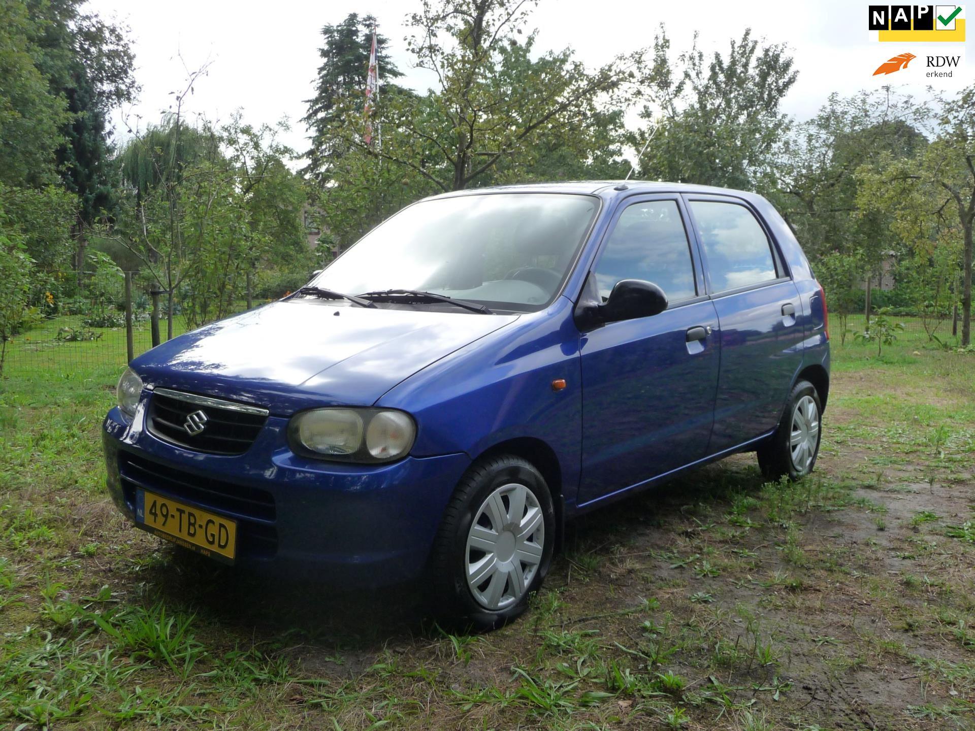 Suzuki Alto occasion - Verhoeven Cars