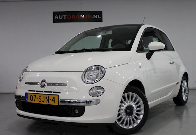 Fiat 500 1.2 Pop Airco, PANO, Nette Staat!!
