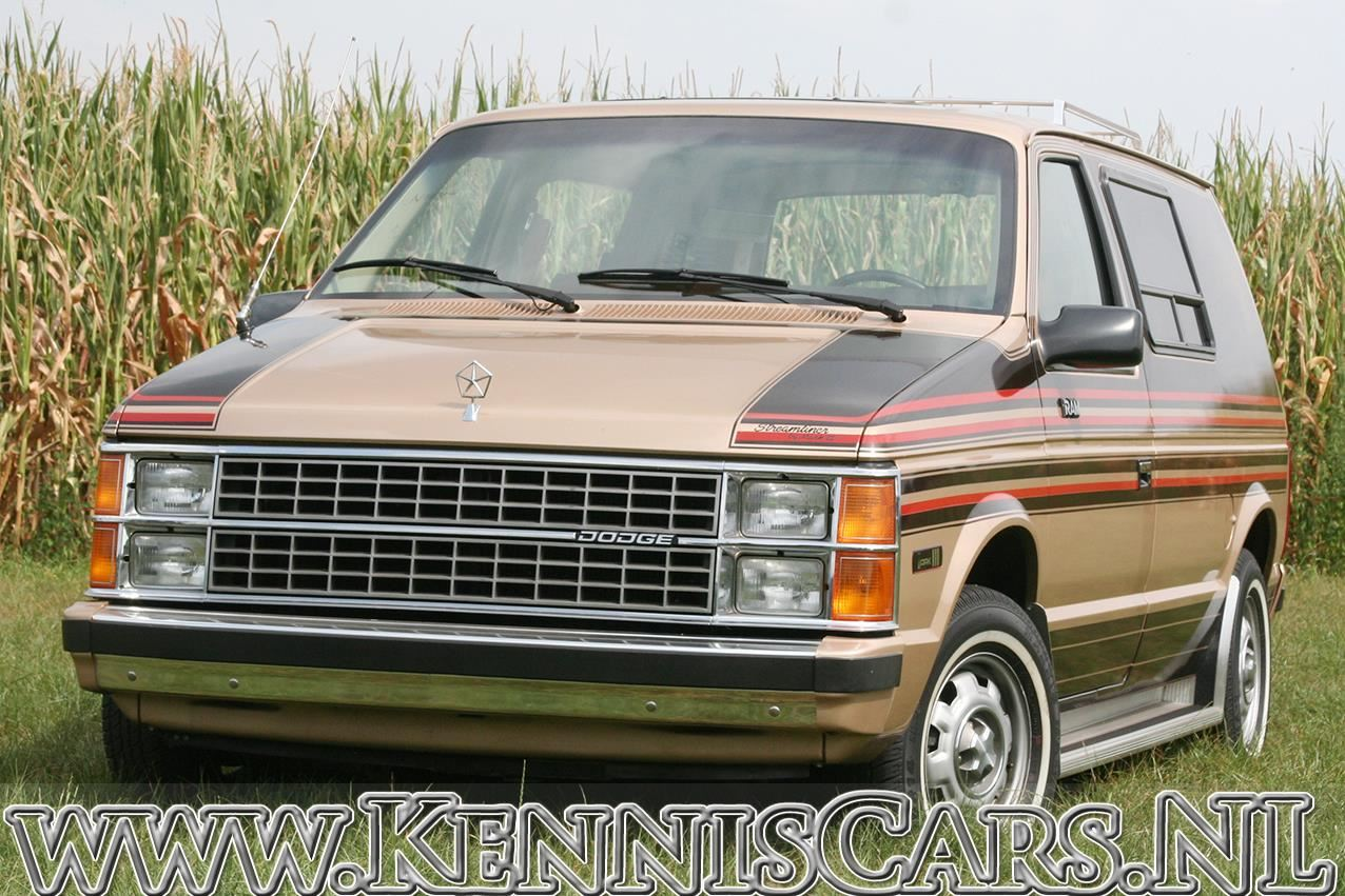 Dodge 1984 RAM Van Custom built by Mark III Industries odometer read 90 miles occasion - KennisCars.nl