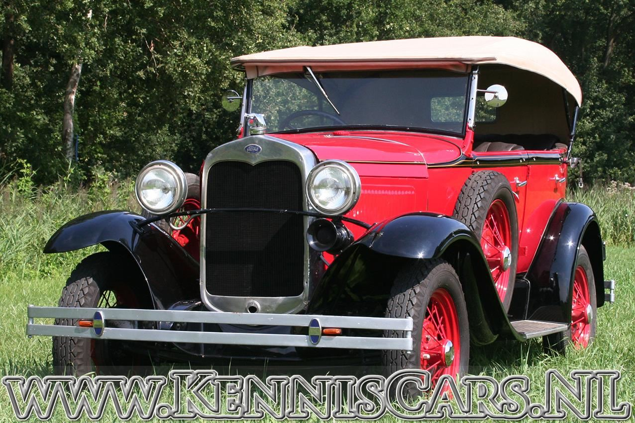 Ford 1930 A Pheaton occasion - KennisCars.nl